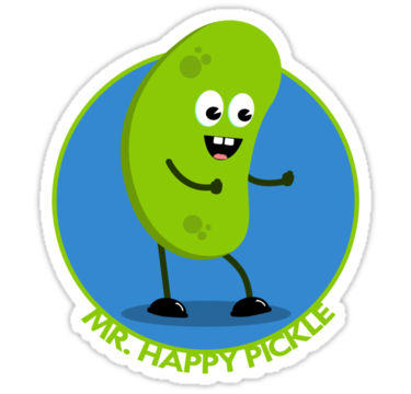 Pickles clipart happy By Redbubble Pickle