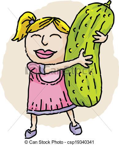 Pickle clipart huge A Pickle cartoon Hugging a