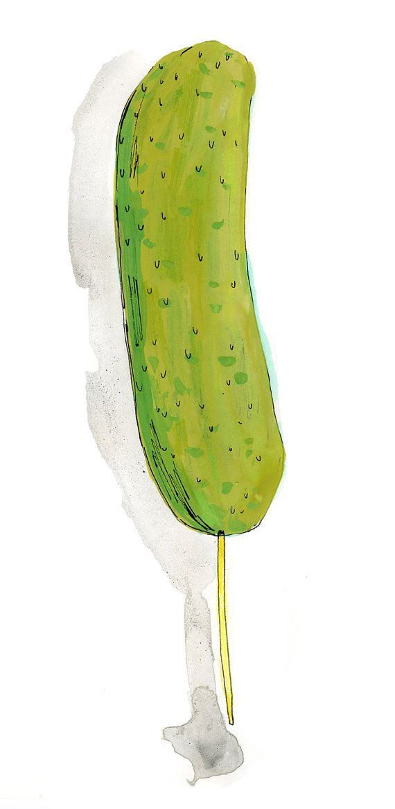 Pickles clipart stick 213 on images drawing i