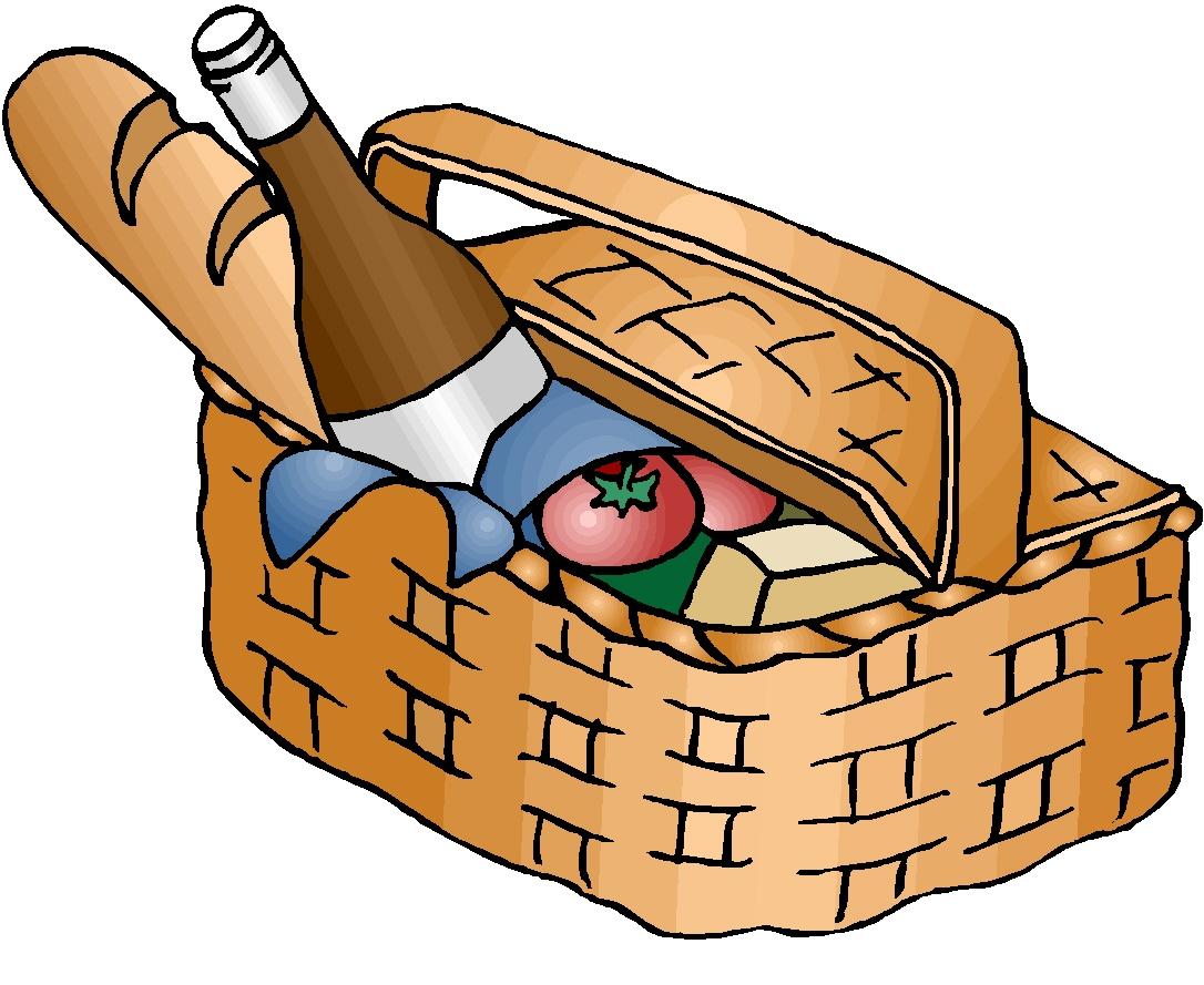 Picnic Basket clipart cute Images Clipart Free Basket Art