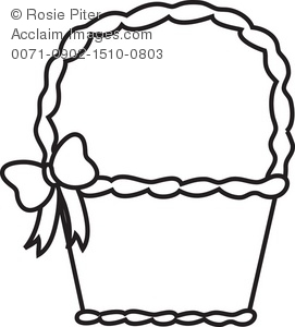Basket clipart black and white Clip picnic%20basket%20clipart%20black%20and%20white Free Panda Clipart