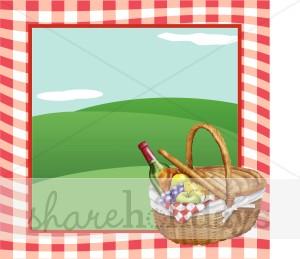 Picnic Basket Background Picnic Backgrounds