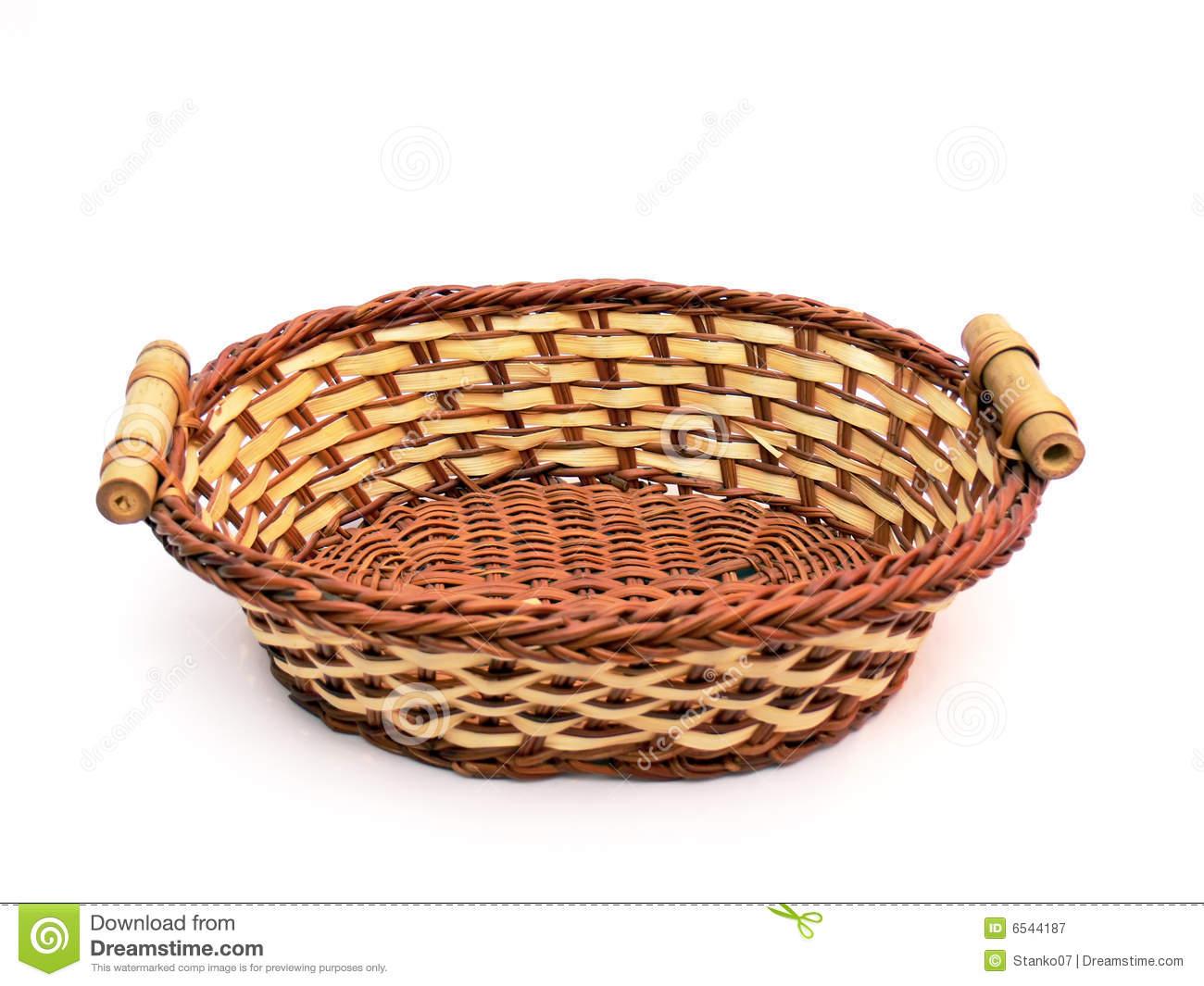 Basket clipart empty harvest Empty Clipart Empty (rf wicker