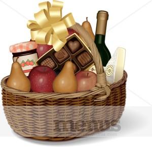 Wine clipart gift hamper Clipart Basket Clipart Picnic Clipart