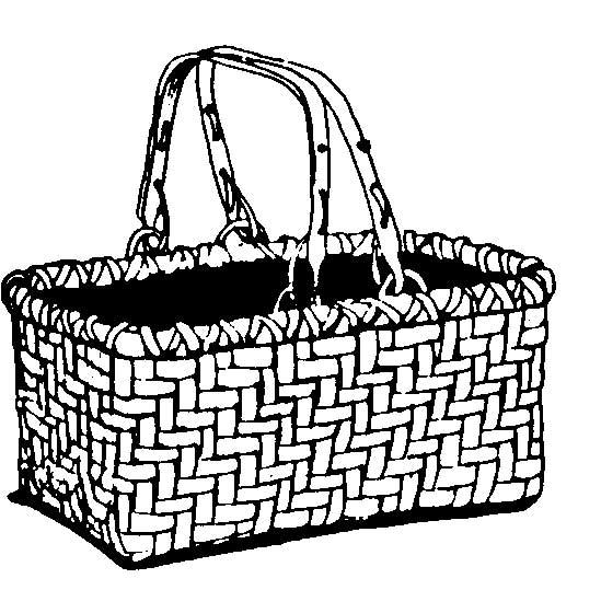 Picnic Basket clipart market basket Laundry clipart clip basket ClipartBarn
