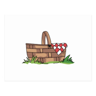 Picnic Basket clipart save the date BASKET Zazzle POSTCARD Postcards Basket
