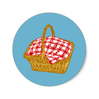 Picnic Basket clipart save the date Basket Zazzle Basket Classic Picnic