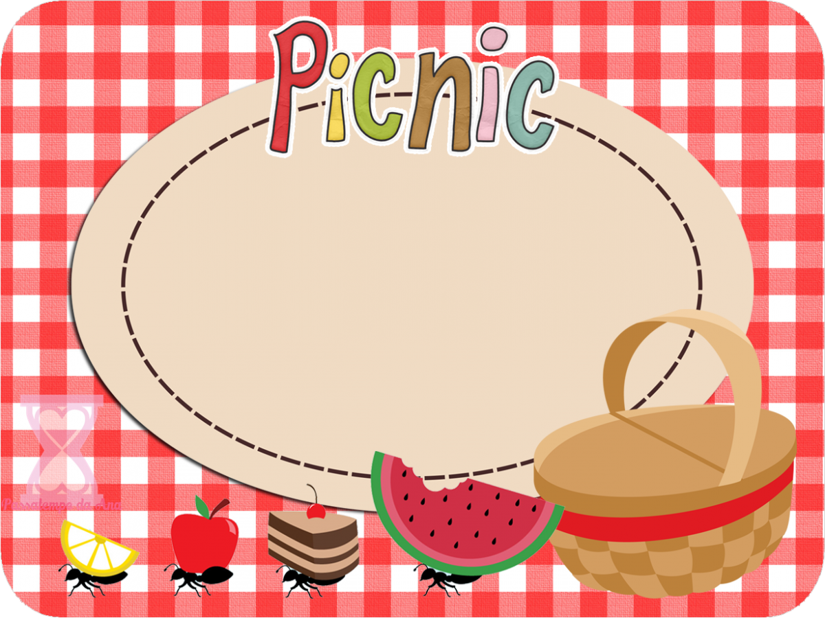 Picnic Basket clipart save the date Invitation on invitations Templates Picnic