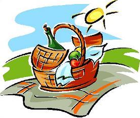 Picnic clipart Clipart Free picnic basket Picnic