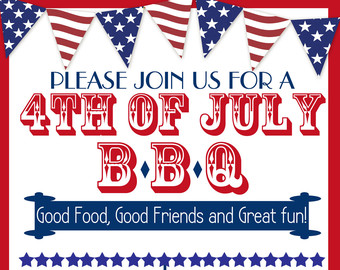 Barbecue clipart 4th july July Picnic Clip Art of