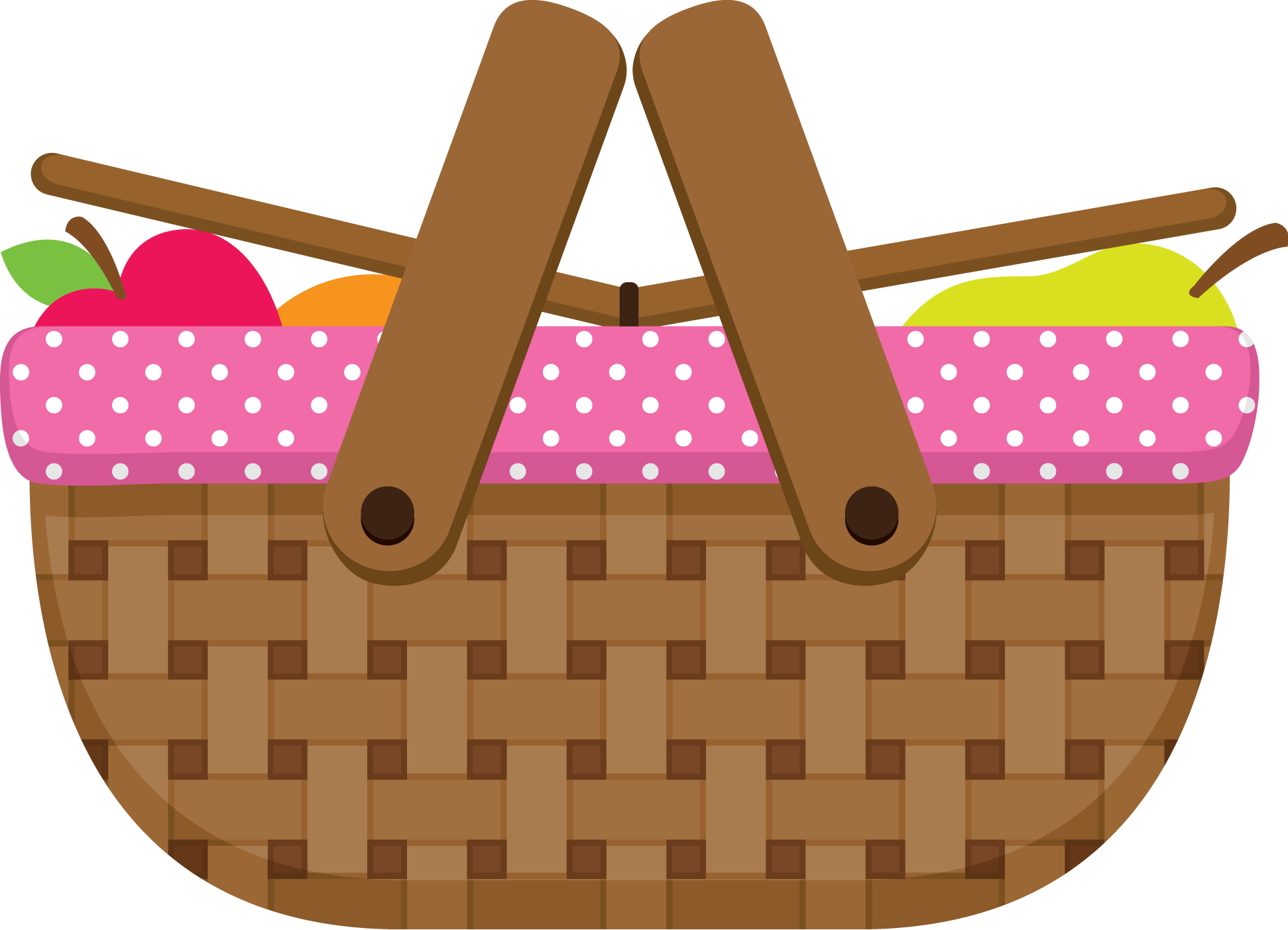 Picnic Basket clipart vector On Picnic and Find Clipart