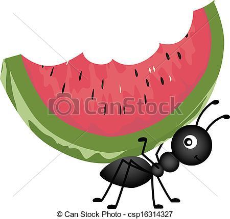 Ants clipart icon Picnic Clipart Picnic A Watermelon