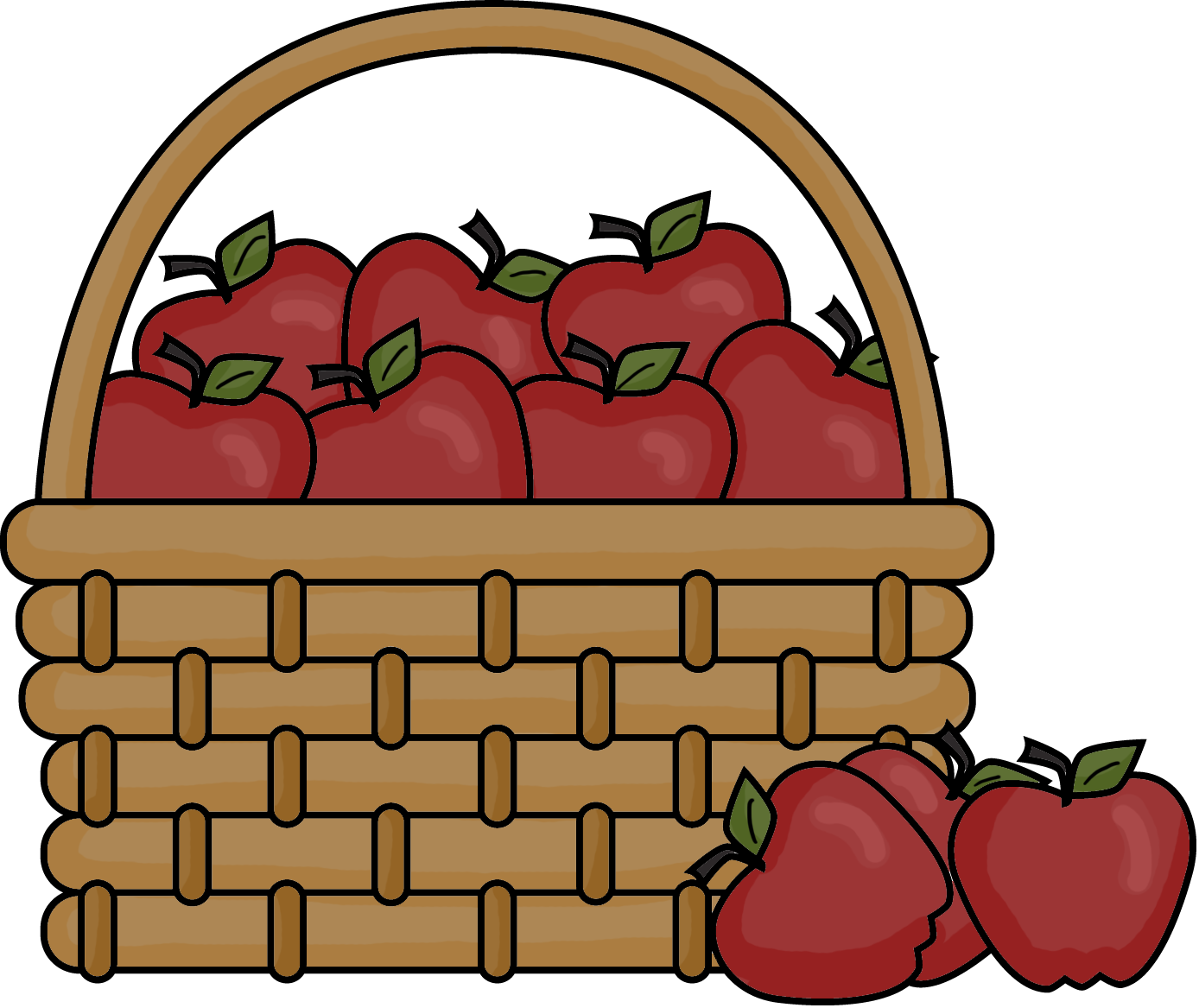 Carrot clipart basket Clipart Clipart Apple Basket Clipart