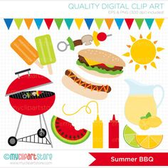 Barbecue clipart birthday bbq Art Barbeque / Clipart