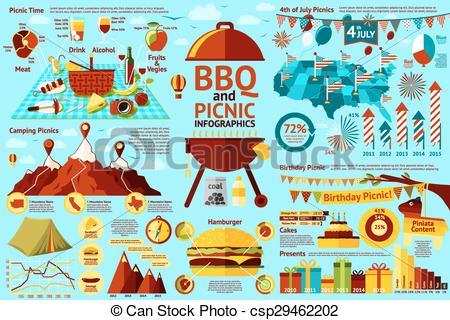 Burger clipart picnic food 363 infographics Picnic food