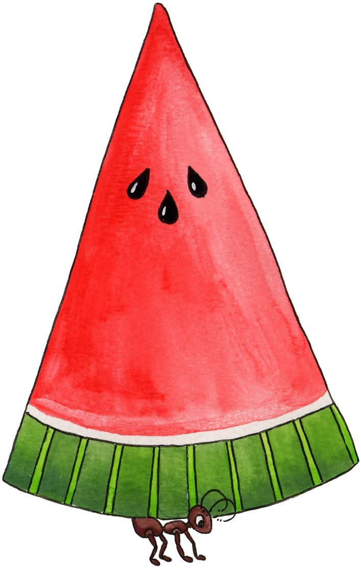 Watermelon clipart individual  jpg] Free Art Clipart