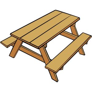 Bench clipart animated Download jpg contains art table