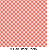 Pattern clipart tablecloth 138 vector  picnic red