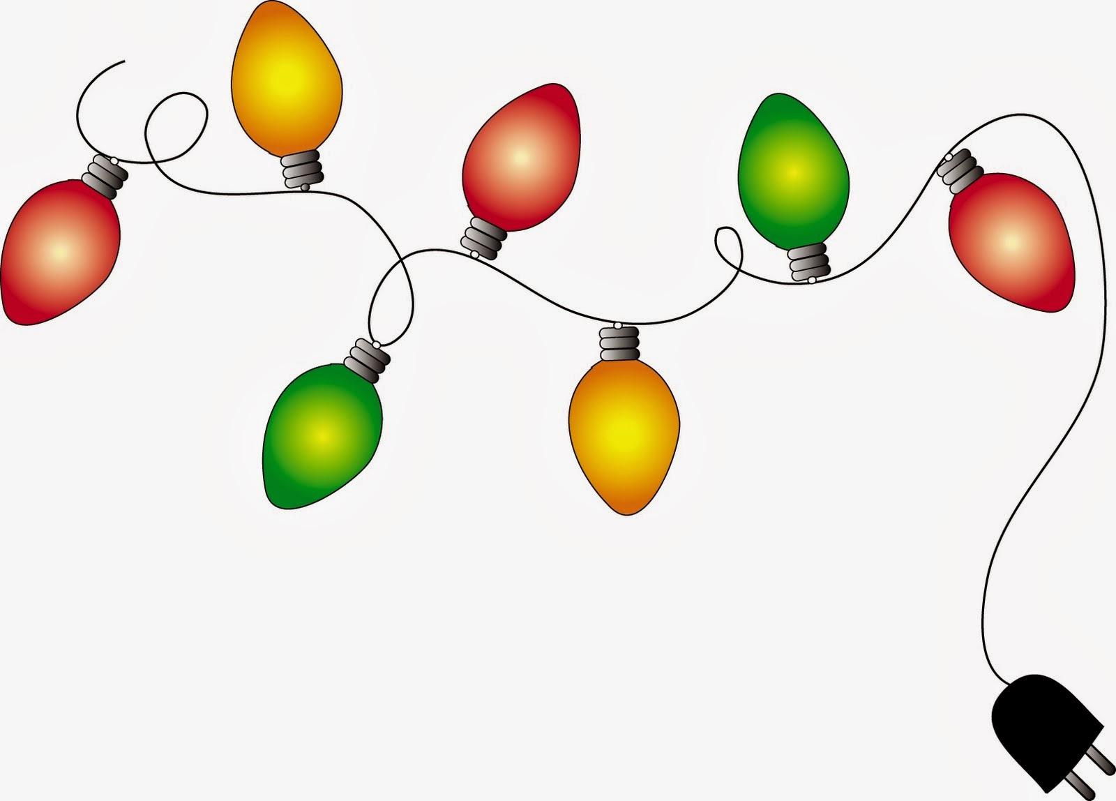 Holydays clipart christmas light garland Art Page Art more info