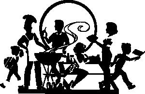 Picnic clipart company picnic Clker Art Picnic art Clip