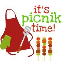 Picnic Table clipart summer picnic #4