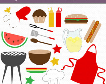 Barbecue Sauce clipart summertime Clip Art Out art Bbq