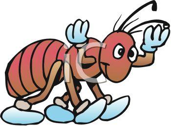Sad clipart ant #4