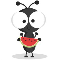 Ant clipart cute With Picnic Ant utensils clipart