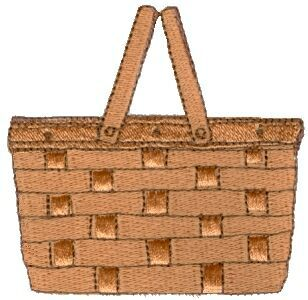 Basket clipart empty bag Activities about 129 picnic this