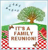 Picnic clipart family gathering Word in Iron Printable embedded
