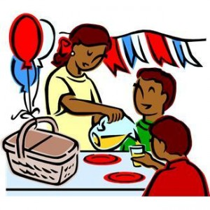 Picnic clipart family picnic Free free clipart Family Clipart
