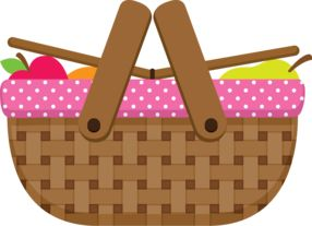Picnic clipart food hamper On & Cooking & Clip