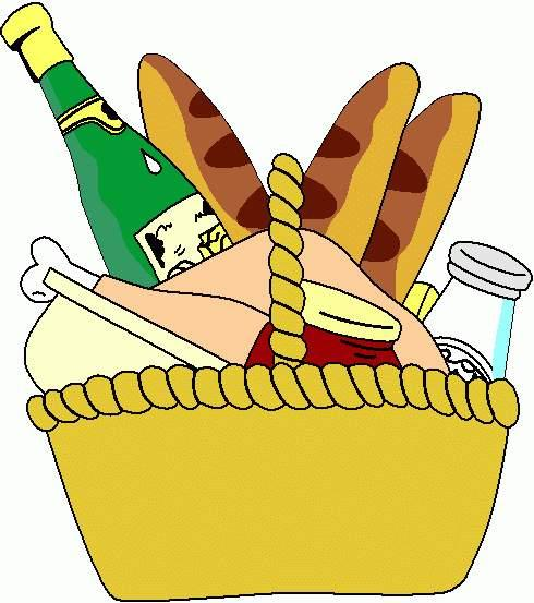 Picnic clipart food hamper Clipart art clipart WikiClipArt Picnic