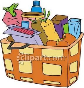 Picnic clipart food hamper Full Download Clipart Of Clipart