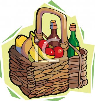Picnic clipart food hamper And Wine A com Clipart