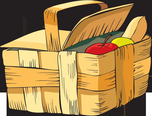 Picnic Basket clipart cute Gclipart – Clipart clip com