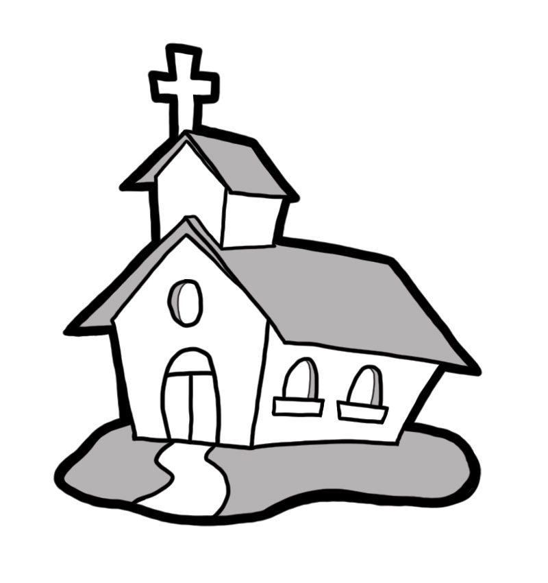 Religion clipart small church Church free Church Cliparting picnic