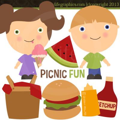 Picnic clipart fun #4