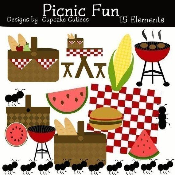 Picnic clipart fun #1