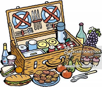 Picnic Basket clipart food hamper From Cartoons and picture cartoon