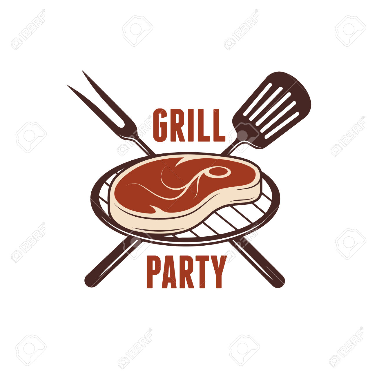 Barbecue clipart barbecue meat Party meat clipart Barbecue Grill