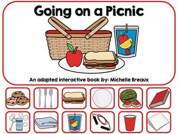 Picnic Basket clipart school picnic Pinterest {Autism Interactive In A