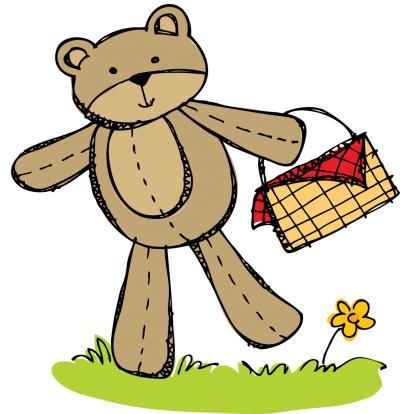 Picnic clipart indoor activity Oaks  Bear Teddy Southern