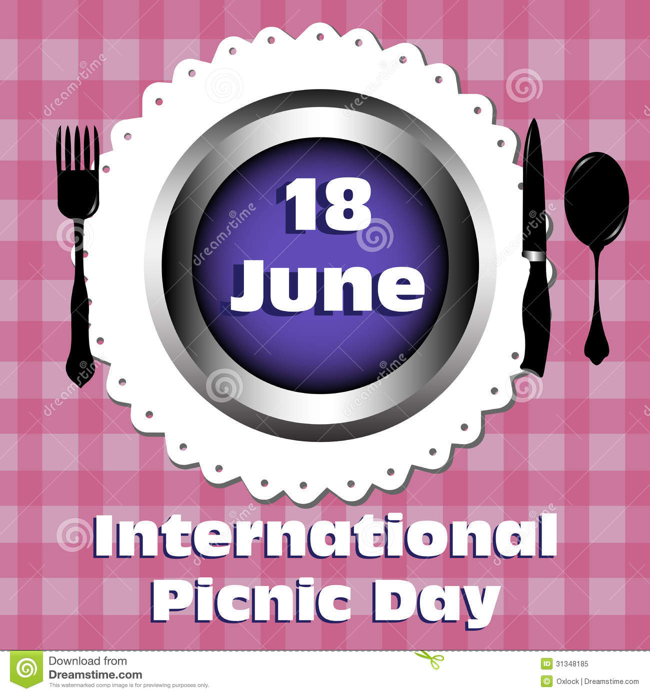 Picnic clipart june June Day And Picnic 30+