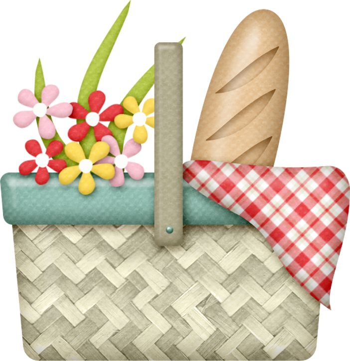 Picnic Basket clipart printable About Яндекс on Pinterest Фотки