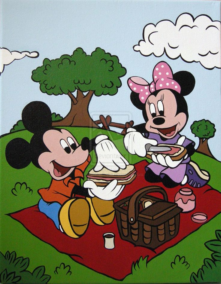Picnic clipart mickey mouse Mickey Mouse best on about