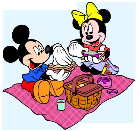 Picnic clipart mickey mouse Mickey y Mickey y Minnie