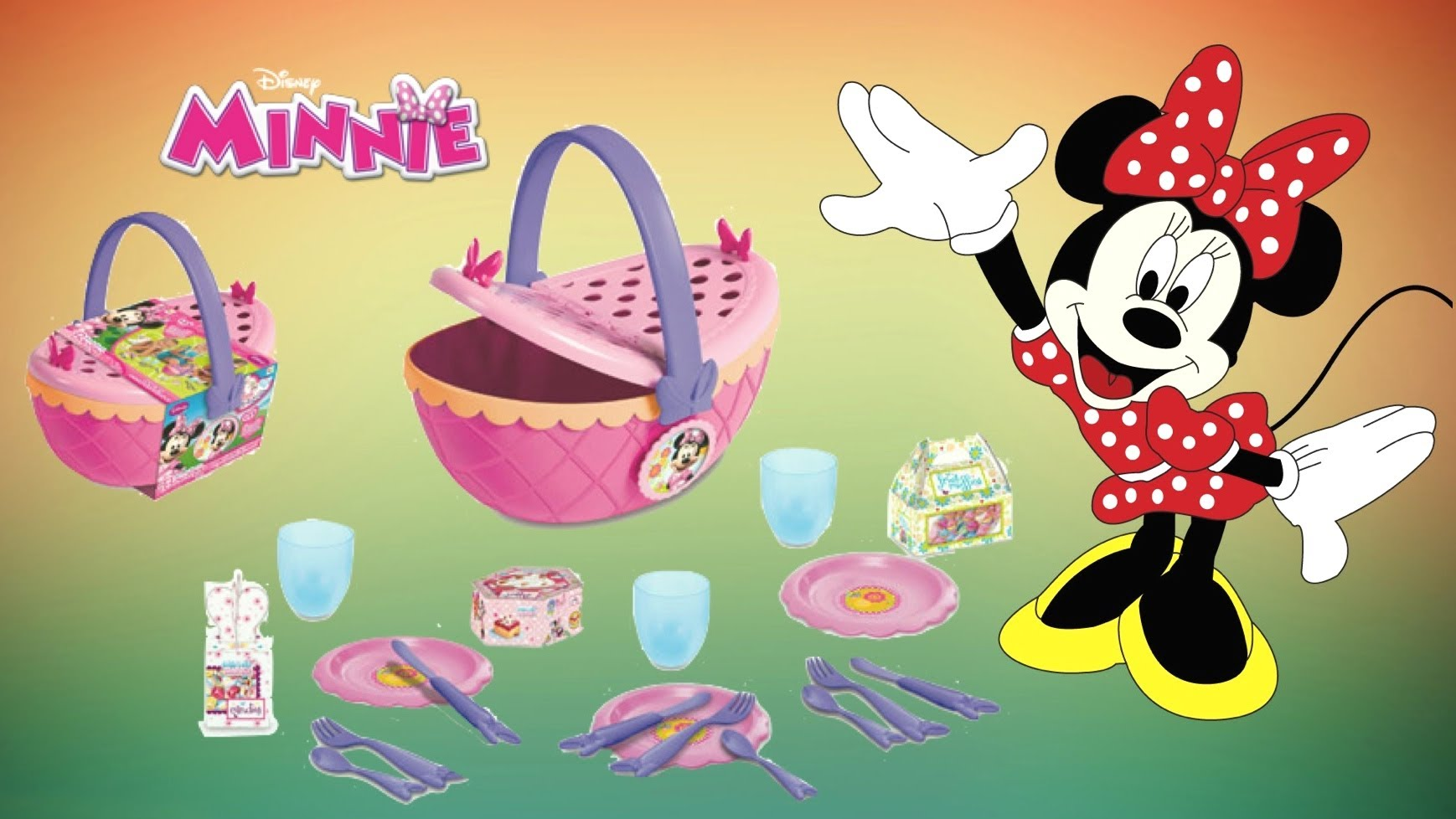 Picnic clipart mickey mouse Junior Bow Set Bow Minnie