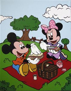 Picnic clipart minnie mouse #9