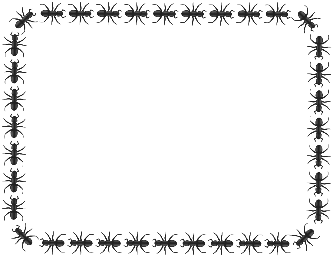 Ant clipart ant trail Borders Panda Images Free Picnic